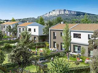 Programme immobilier neuf LES JARDINS DE L'HORTUS à SAINT-MATHIEU-DE-TREVIERS
