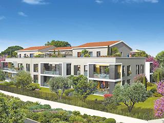 Programme immobilier neuf LES GRANDS PLATANES à AIX EN PROVENCE