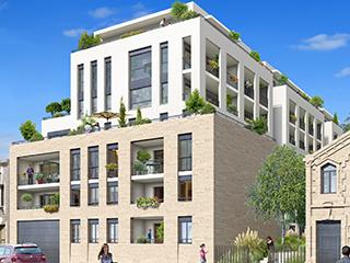 Programme immobilier neuf LA COUR SEGUR à BORDEAUX