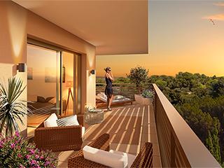 Programme immobilier neuf LE MAS ESTELLA à AIX EN PROVENCE