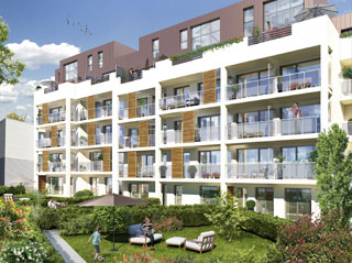 Programme immobilier neuf SOUTH GARDEN à CHATILLON
