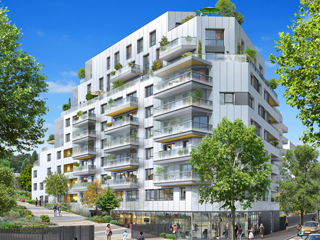 Programme immobilier neuf TERRASSES 105 à ISSY LES MOULINEAUX