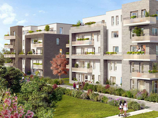 Programme immobilier neuf COEUR CLAUDEL II à AMIENS