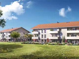 Programme immobilier neuf LES GAVOTINES à LARRINGES