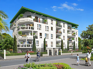 Programme immobilier neuf LE CHARLESTON à BIARRITZ